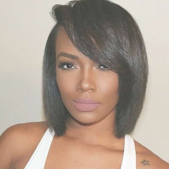 Best 25+ African American Hairstyles For Women Bobs Ideas On Throughout Recent Medium Haircuts For Black Women With Fine Hair (View 5 of 25)