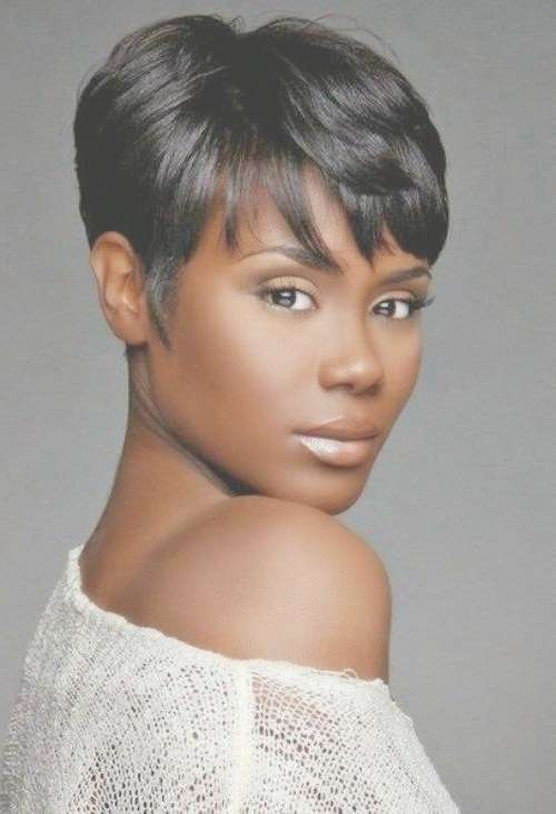 Best 25+ African American Short Haircuts Ideas On Pinterest Intended For Most Current Medium Haircuts For Black Women With Fine Hair (View 14 of 25)
