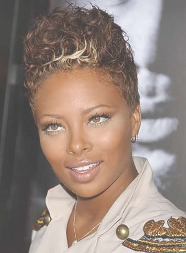 Best 25+ African American Short Hairstyles Ideas On Pinterest Within Most Popular Medium Haircuts For Round Faces African American (View 19 of 25)