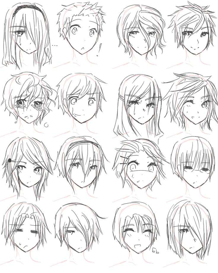 Best 25+ Anime Hairstyles Ideas On Pinterest | Manga Hair, Anime Throughout Anime Bob Haircuts (View 9 of 25)
