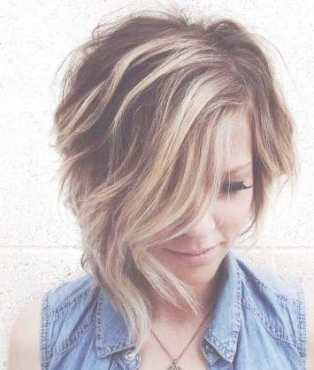 Best 25+ Asymmetrical Hairstyles Ideas On Pinterest | Short Throughout Most Current Medium Haircuts With One Side Longer Than The Other (View 18 of 25)