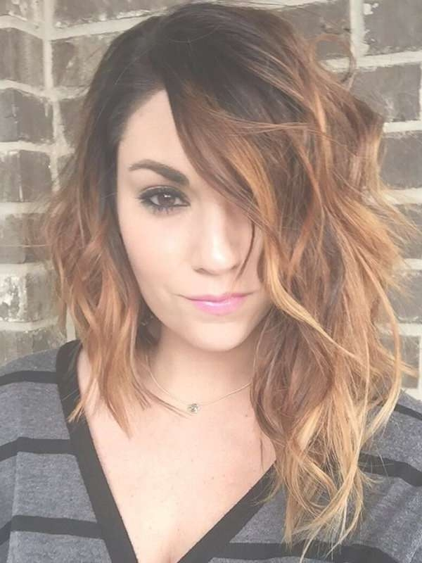 Best 25+ Asymmetrical Hairstyles Ideas On Pinterest | Short With Recent Asymmetric Medium Haircuts (View 16 of 25)