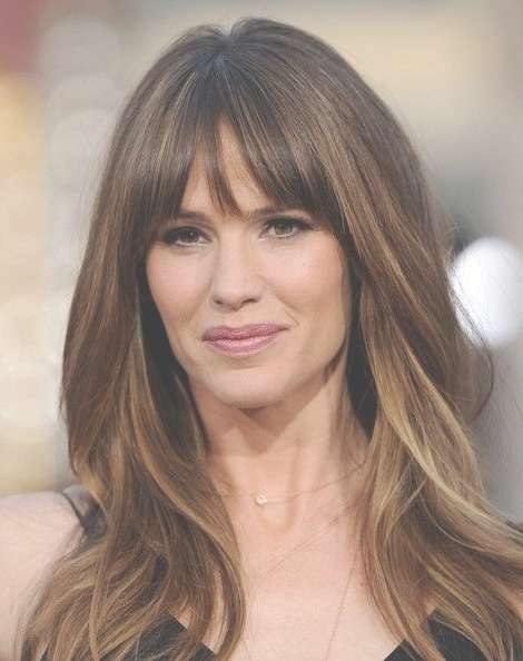 Best 25+ Bangs Long Hair Ideas On Pinterest | Haircuts For Long Throughout  Most Popular