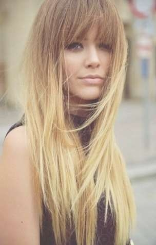 25 The Best Long Hairstyle With Fringe