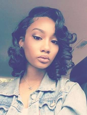 Best 25+ Black Bob Hairstyles Ideas On Pinterest   Straight Black With Latest Cute Medium Hairstyles For Black Women (View 20 of 25)