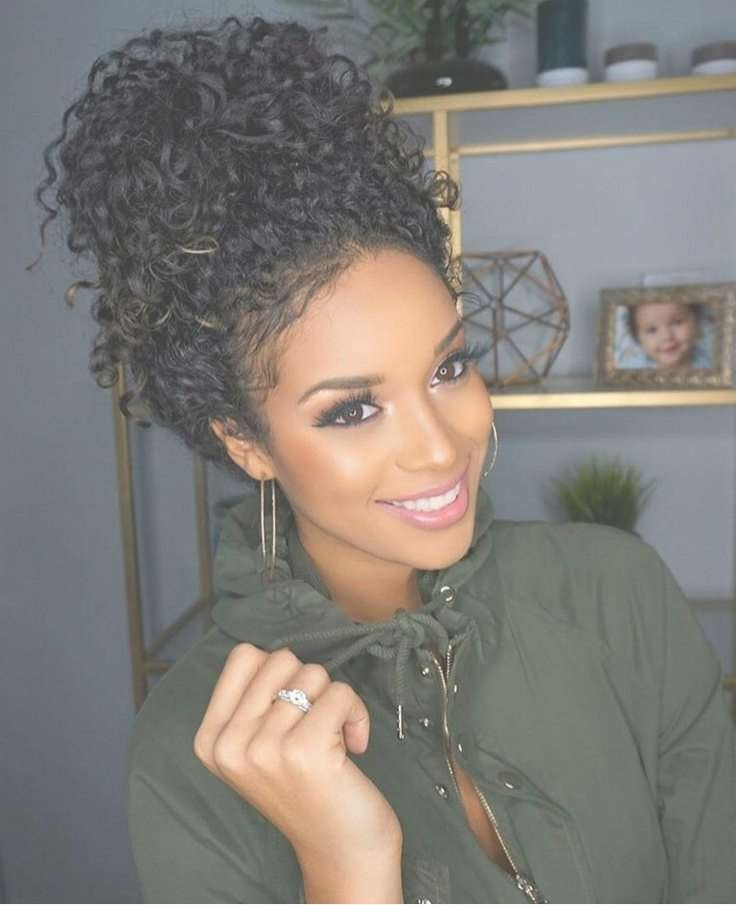 Best 25+ Black Curly Hairstyles Ideas On Pinterest | Hairstyles Inside Latest Medium Haircuts For Black Curly Hair (View 20 of 25)