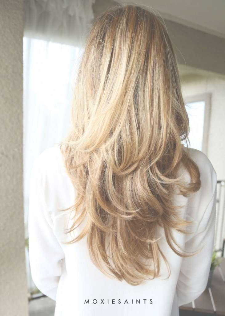 Best 25+ Blonde Long Layers Ideas On Pinterest | Layered Hair Regarding Current Long Haircut With Layers (View 18 of 25)