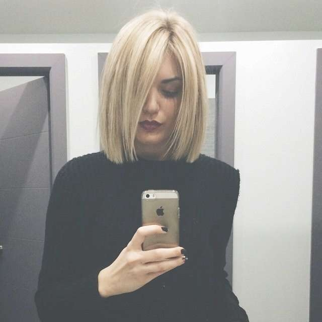 Best 25+ Blunt Cut Hairstyles Ideas On Pinterest | Blunt Bob 2016 Within Blunt Bob Hairstyles (View 21 of 25)