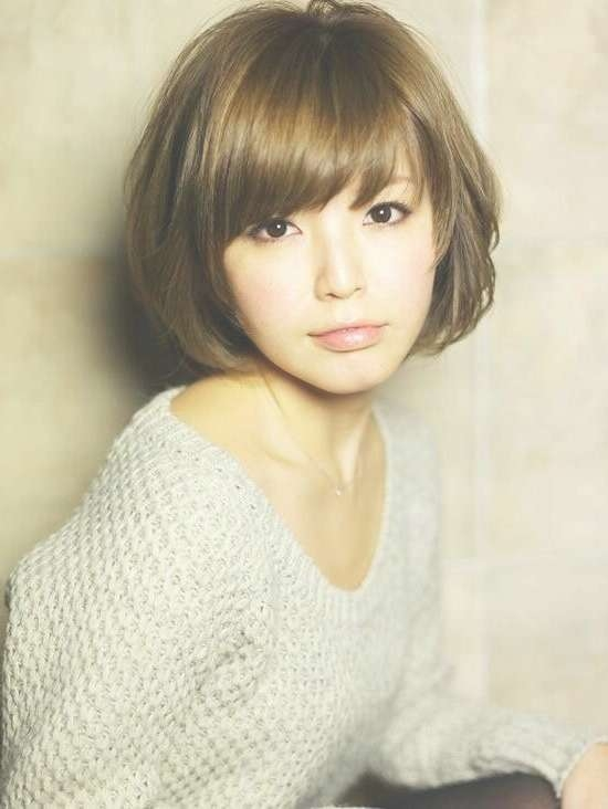 Best 25+ Bob With Bangs Ideas On Pinterest   Bob Haircut With Throughout Short Bob Hairstyles With Fringe (View 10 of 25)