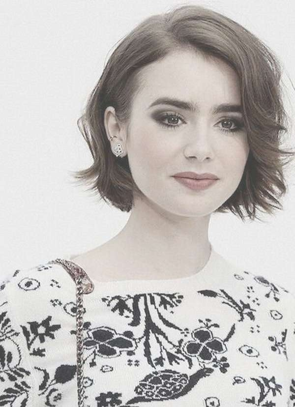 Best 25+ Bobs For Round Faces Ideas On Pinterest | Short Intended For Current Edgy Medium Hairstyles For Round Faces (View 6 of 15)