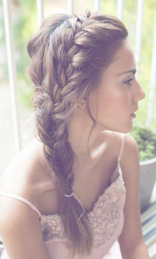 Best 25+ Braids For Medium Hair Ideas On Pinterest | Braids Medium For Most Current Medium Hairstyles To One Side (View 23 of 25)