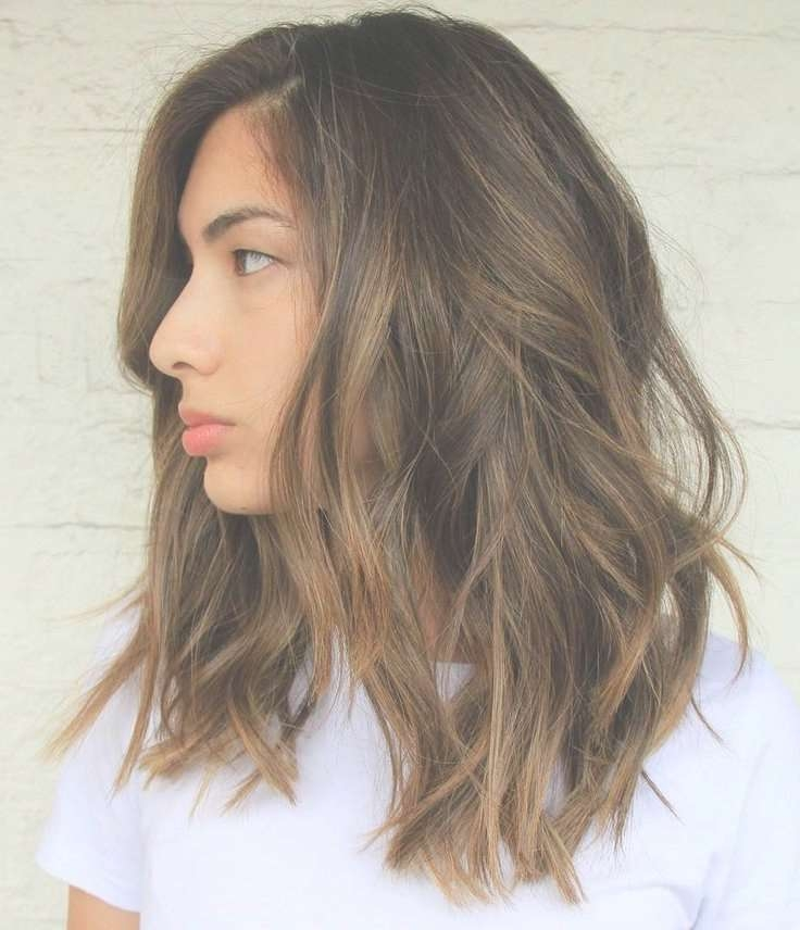 Best 25+ Brown Medium Length Hair With Highlights Ideas On Inside Newest Medium Hairstyles And Highlights (View 6 of 15)