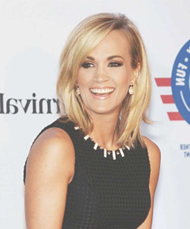 Best 25+ Carrie Underwood Haircut Ideas On Pinterest   Shoulder With Most Popular Carrie Underwood Medium Hairstyles (View 5 of 25)