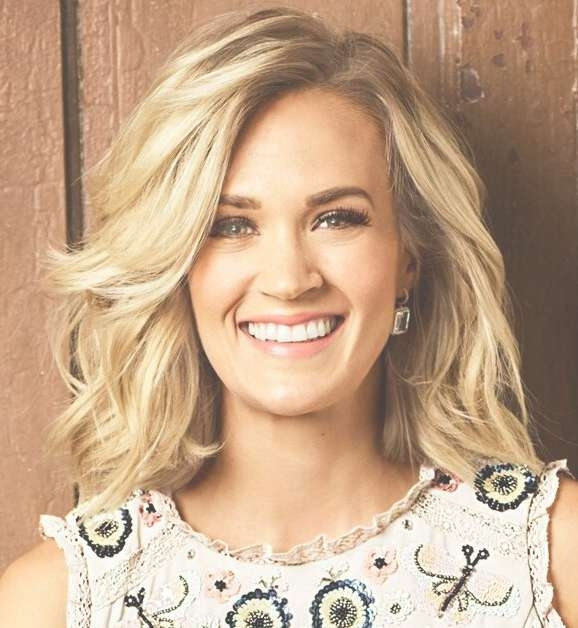 Best 25+ Carry Underwood Hair Ideas On Pinterest   Fun Hair Cuts Intended For Carrie Underwood Bob Haircuts (View 21 of 25)