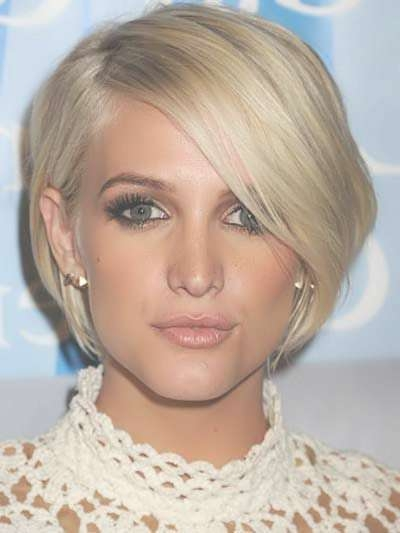 Best 25+ Celebrity Short Haircuts Ideas On Pinterest | Easy Short For Celebrity Short Bob Hairstyles (View 7 of 25)