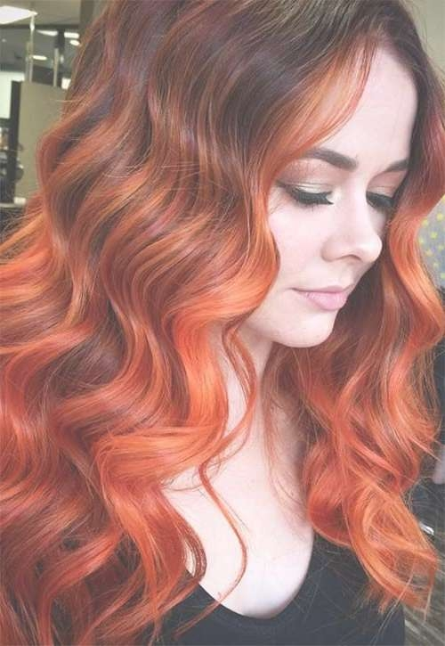 Best 25+ Copper Hair Colors Ideas On Pinterest | Which Red Hair Regarding Most Popular Medium Hairstyles For Red Hair (View 9 of 25)