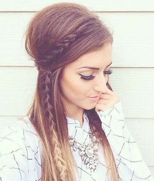 Best 25+ Country Hairstyles Ideas On Pinterest | Braids Side Of Within Best And Newest Medium Hairstyles For Night Out (View 13 of 25)