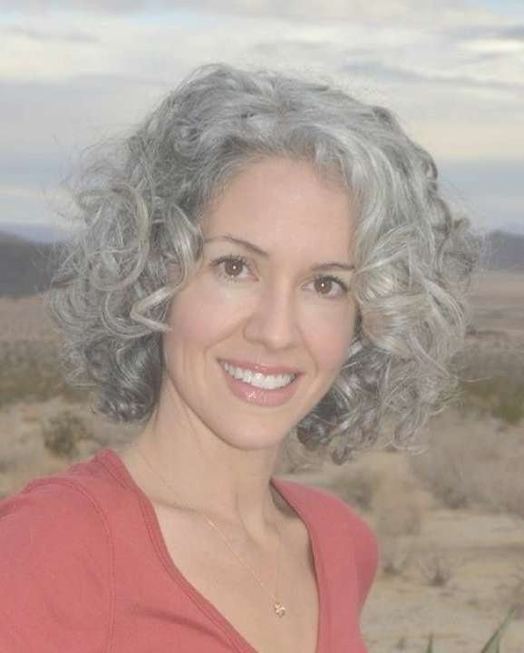 Best 25+ Curly Gray Hair Ideas On Pinterest | Why Grey Hair Is Inside Most Up To Date Medium Hairstyles For Grey Haired Woman (View 12 of 25)