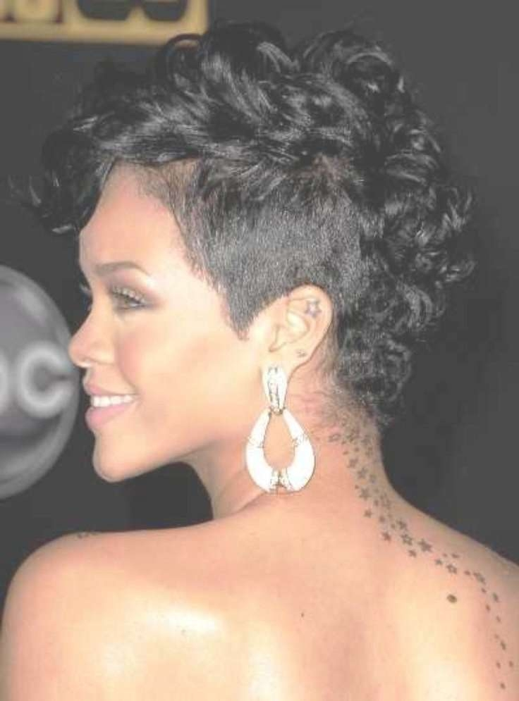 Best 25+ Curly Mohawk Hairstyles Ideas On Pinterest | Mohawk For Most Current Mohawk Medium Hairstyles For Black Women (View 4 of 15)