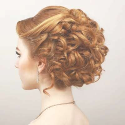 Best 25+ Curly Prom Hairstyles Ideas On Pinterest | Long Prom For Most Up To Date Medium Hairstyles Formal Occasions (View 12 of 25)