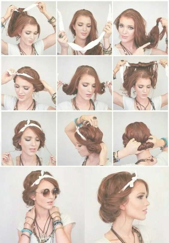 Best 25+ Cute Bandana Hairstyles Ideas On Pinterest | Short Hair Throughout Most Recently Medium Hairstyles With Bandanas (View 9 of 15)