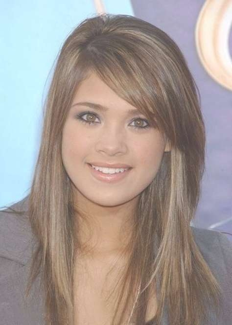 Best 25+ Cute Side Bangs Ideas On Pinterest | Cut Side Bangs With Most Recent Medium Haircuts Side Bangs (View 13 of 25)