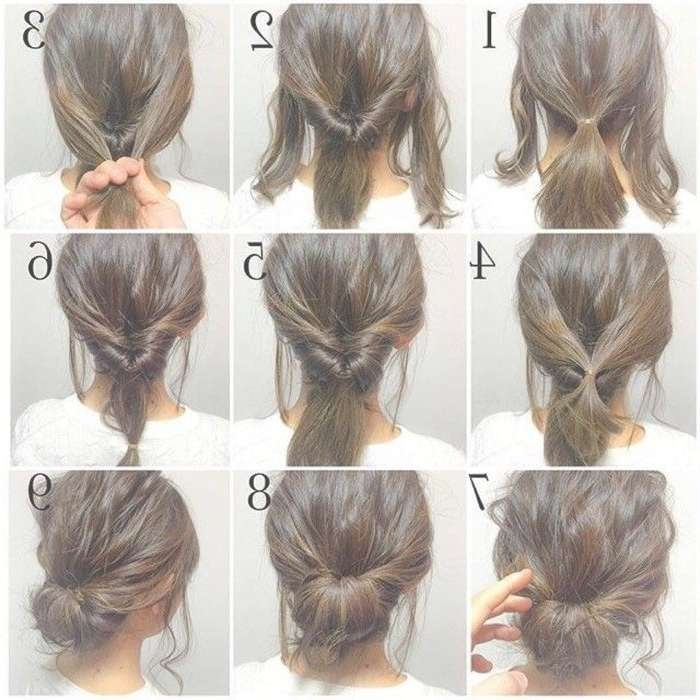 Best 25+ Easy Work Hairstyles Ideas On Pinterest | Simple Updo Throughout Recent Medium Hairstyles For Work (View 4 of 15)