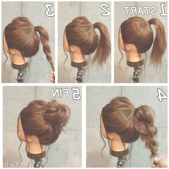 Best 25+ Easy Work Hairstyles Ideas On Pinterest | Simple Updo Within Current Medium Hairstyles For Work (View 8 of 15)