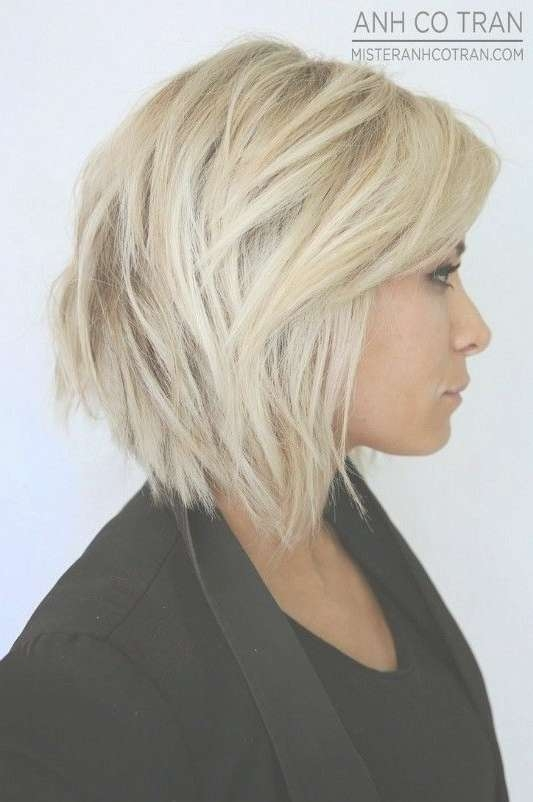Best 25+ Edgy Bob Haircuts Ideas On Pinterest | Long Shaggy Bob Intended For Medium To Short Bob Haircuts (View 14 of 25)