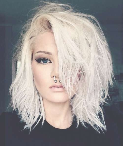 Best 25+ Edgy Medium Haircuts Ideas On Pinterest   Hair Cuts Edgy For Latest Edgy Medium Haircuts For Thick Hair (View 10 of 25)