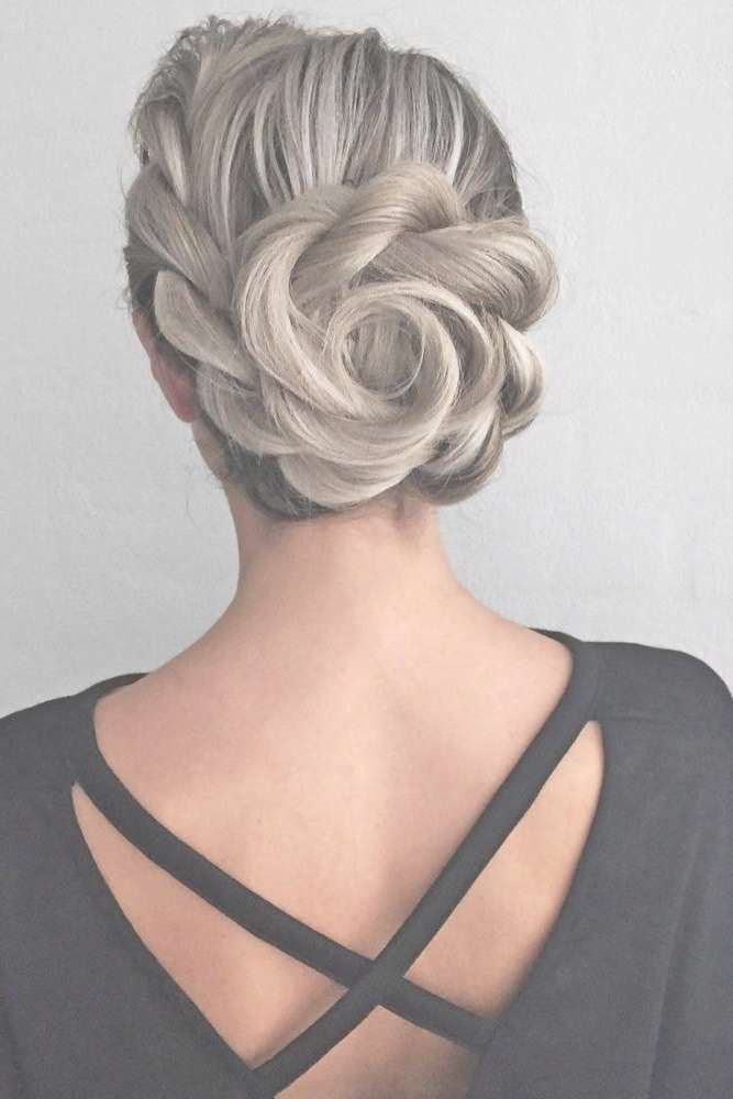 Best 25+ Fancy Updos Ideas On Pinterest | Fancy Hair, Fancy Buns Within Current Elegant Medium Hairstyles For Weddings (View 7 of 25)