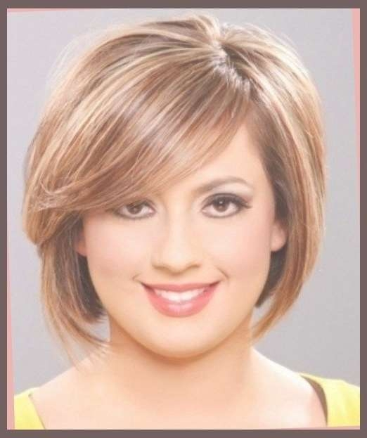 Best 25+ Fat Face Haircuts Ideas On Pinterest | Hairstyles For Fat Pertaining To Latest Medium Haircuts For Heavy Set Woman (View 15 of 15)