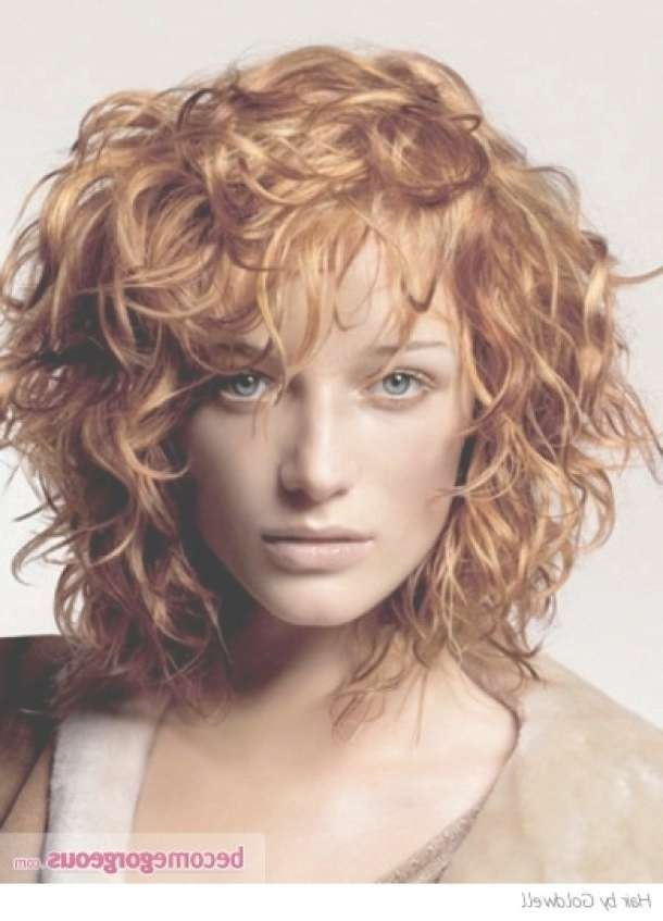 Best 25+ Fine Curly Hair Ideas On Pinterest | Short Hair With Perm Intended For Newest Medium Haircuts For Thick Fine Hair (View 18 of 25)