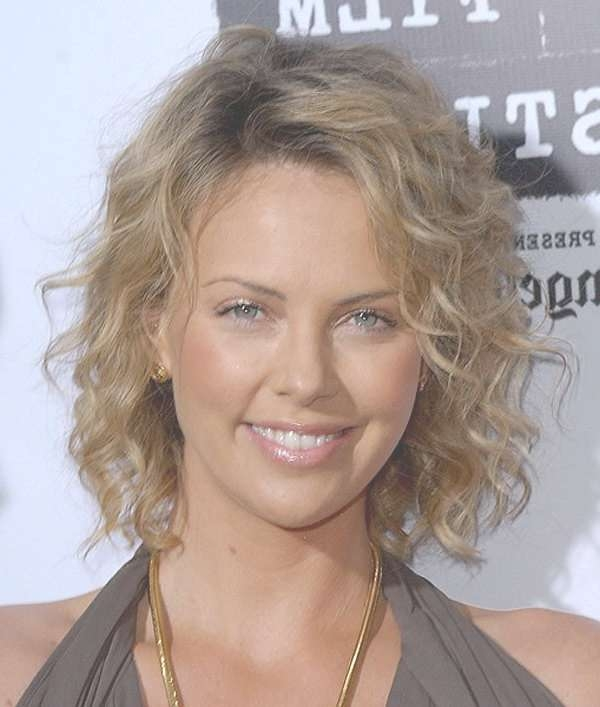 Featured Photo of Medium Haircuts For Thin Curly Hair