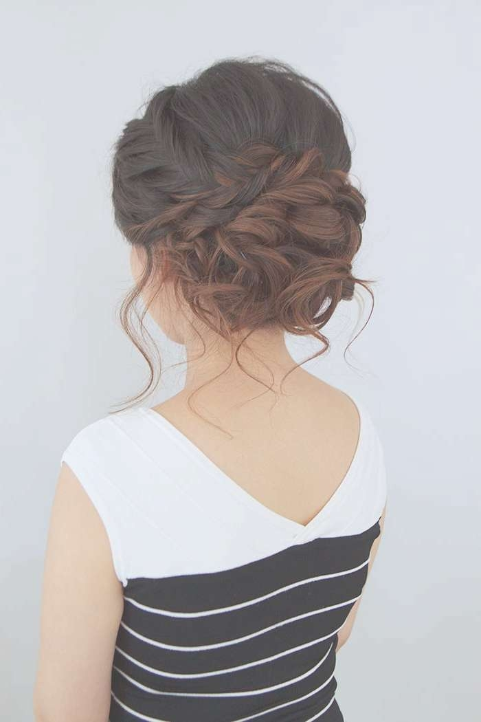 Best 25+ Formal Hairstyles Ideas On Pinterest | Dance Hairstyles With Current Medium Hairstyles For Evening Wear (View 14 of 25)