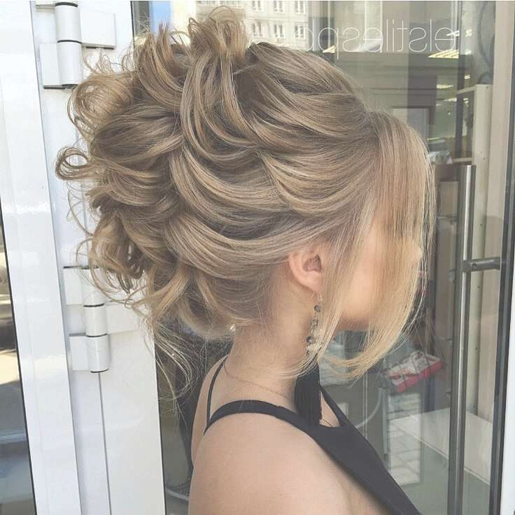 Best 25+ Formal Updo Ideas On Pinterest | Bridesmaid Hair Updo Throughout Current Medium Haircuts For Prom (View 16 of 25)