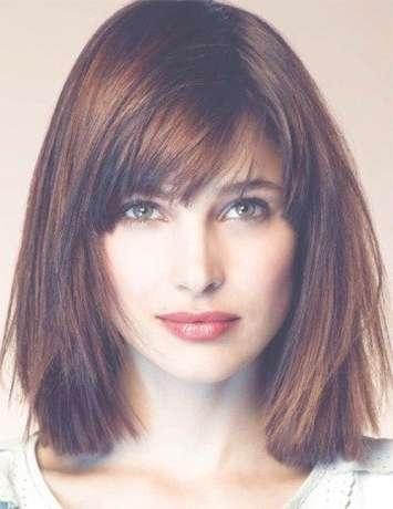 Best 25+ Funky Medium Haircuts Ideas On Pinterest | Medium Regarding Latest Blunt Cut Medium Hairstyles (View 21 of 25)