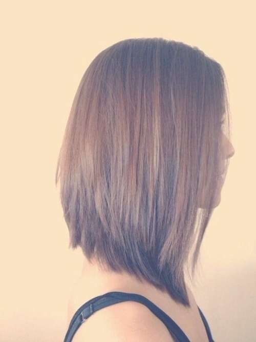 Best 25+ Graduated Haircut Ideas On Pinterest | Long Graduated Bob Pertaining To Most Popular Graduated Medium Haircuts (View 1 of 25)