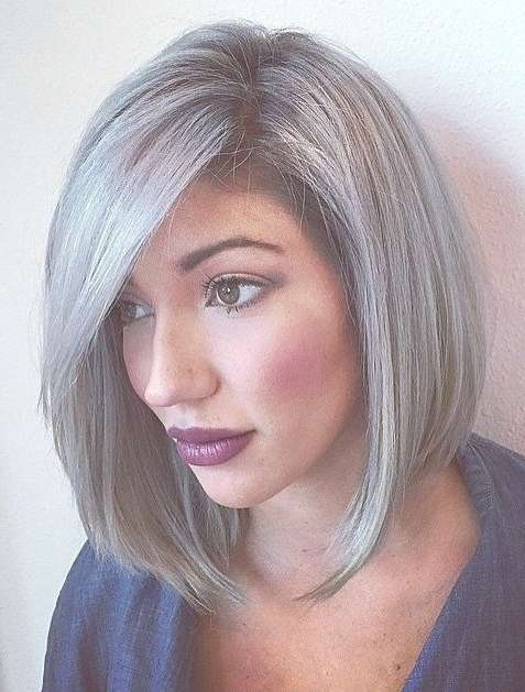 Best 25+ Gray Hair Ideas On Pinterest | Gray Silver Hair, Grey For Most Up To Date Medium Haircuts For Salt And Pepper Hair (View 3 of 25)