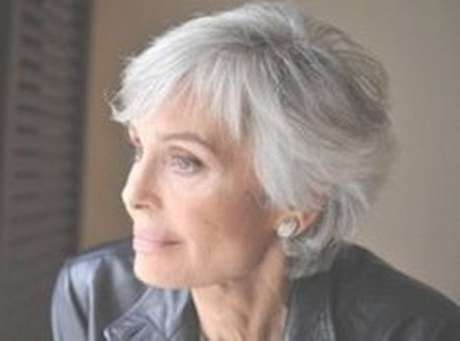 Best 25+ Gray Hairstyles Ideas On Pinterest | Grey Hair Short Bob For Current Medium Haircuts For Women With Grey Hair (View 7 of 25)