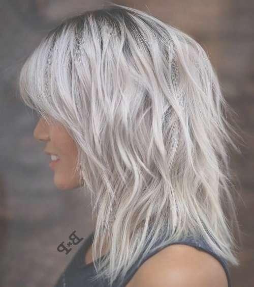 Best 25+ Gray Hairstyles Ideas On Pinterest | Grey Hair Short Bob Inside Recent Gray Medium Hairstyles (View 3 of 15)