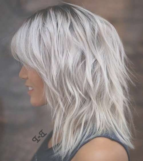 Best 25+ Gray Hairstyles Ideas On Pinterest | Grey Hair Short Bob Pertaining To Recent Medium Hairstyles For Salt And Pepper Hair (View 13 of 15)
