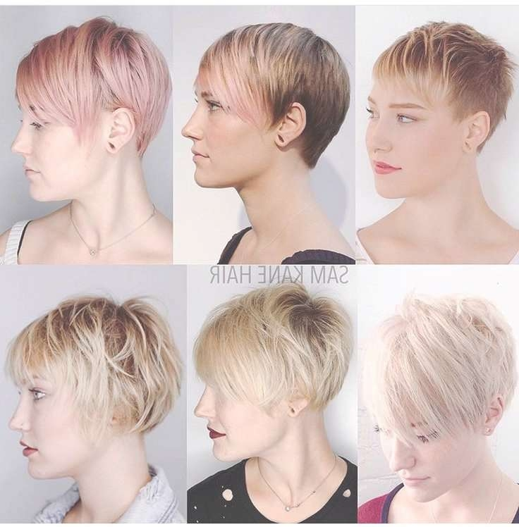 Image Gallery Of Medium Hairstyles For Growing Out A Pixie Cut View