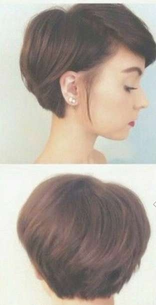 Explore Photos Of Medium Hairstyles For Growing Out A Pixie Cut
