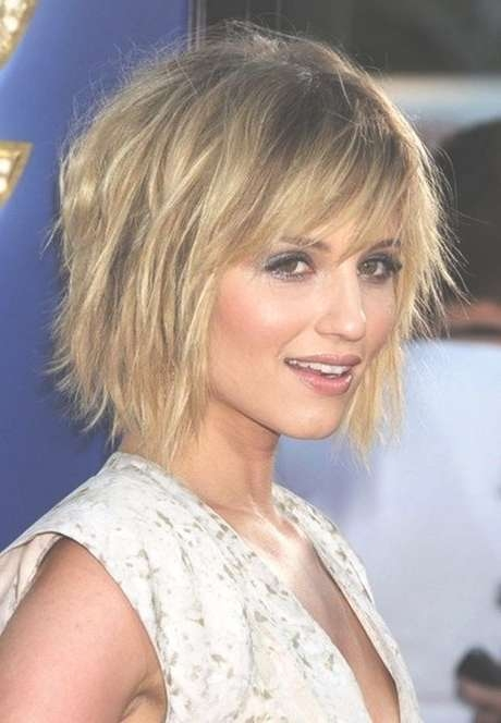 Best 25+ Haircuts For Fine Hair Ideas On Pinterest | Fine Hair Pertaining To 2018 Medium Hairstyles With Bangs For Fine Hair (View 4 of 15)