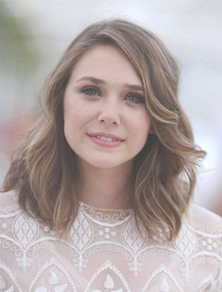 Best 25+ Haircuts For Round Faces Ideas On Pinterest | Bobs For With Regard To Most Recent Pictures Of Medium Hairstyles For Round Faces (View 4 of 15)