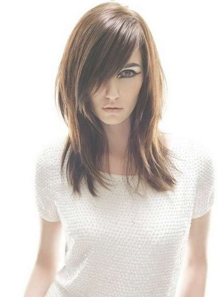 Best 25+ Haircuts For Straight Fine Hair Ideas On Pinterest | Bob Throughout Most Recently Medium Hairstyles For Thin Straight Hair (View 12 of 25)