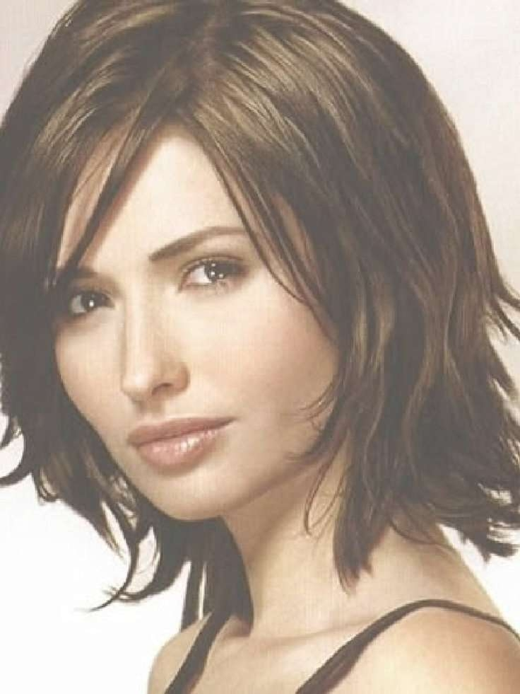 Best 25+ Haircuts For Thin Hair Ideas On Pinterest | Thin Hair Intended For Most Popular Medium Hairstyles For Fine Thin Hair (View 10 of 25)