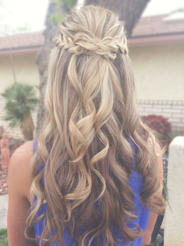 Best 25+ Hairstyles For Dances Ideas On Pinterest | Half Up Half Throughout Most Up To Date Medium Hairstyles For Dances (View 25 of 25)