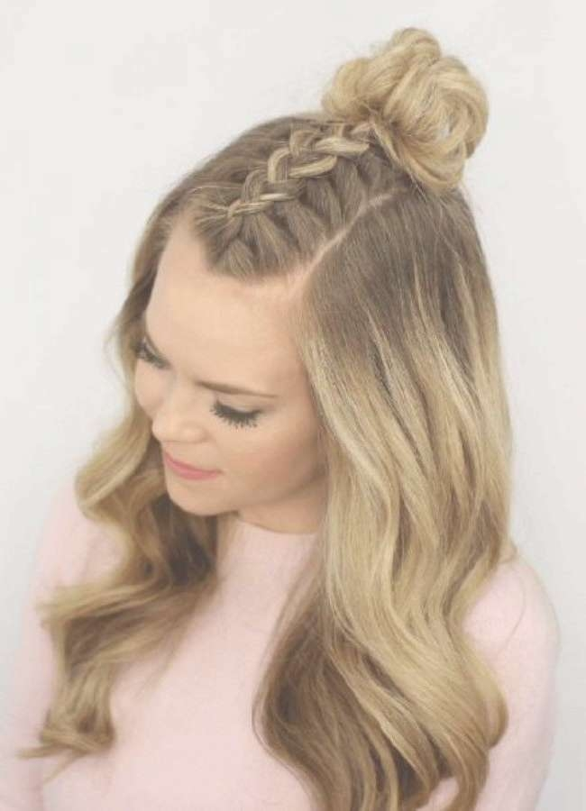 Best 25+ Hairstyles For Dances Ideas On Pinterest | Half Up Half With Regard To Recent Medium Hairstyles For Dances (View 21 of 25)